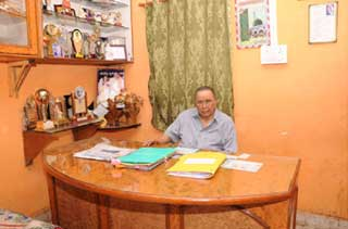 Director of Dr.C.V.Raman  Science College